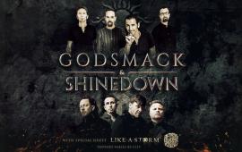Shinedown and Godsmack Announce 2018 Tour