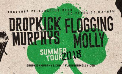 Flogging Molly & Dropkick Murphys June 1st, 2018 – Jacob's Pavilion