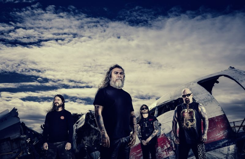 Slayer plays Blossom Music Center June 7th, 2018