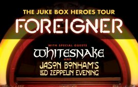 Foreigner w/Whitesnake July 10th at Blossom Music Center