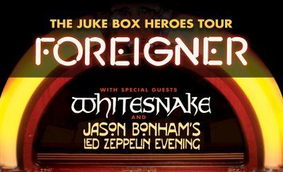 Foreigner w/Whitesnake July 10th at Blossom Music Center