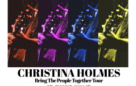 Christina Holmes Plays Beachland Tavern on June 18th, 2018