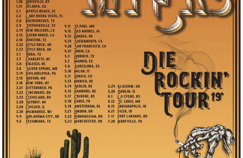 Whiskey Myers Tour 2019 – Plays Cleveland March 23rd.